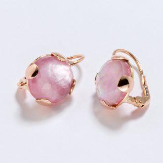 Orecchini-monachella-12mm-rosa
