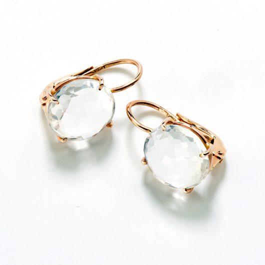 orecchino monachella cristallo rocca